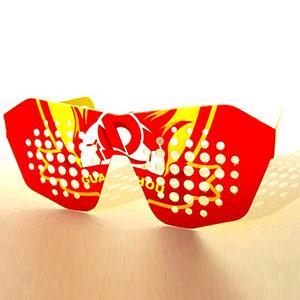 紙製プロモーションサングラス